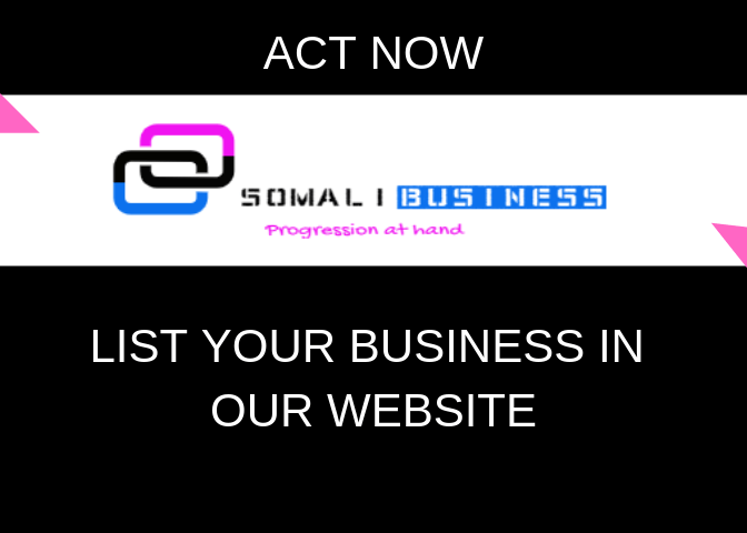SomaliBusiness is a Progress At Hand website where it promotes and lists most successful SomaliBusinesses worldwide.